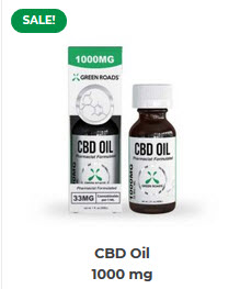 GR - CBD Oil – 1000 mg