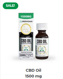 GR - CBD Oil – 1500 mg