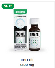 GR - CBD Oil – 3500 mg