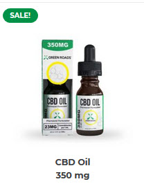 GR - CBD Oil – 350 mg